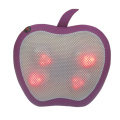 Menenangkan Apple Massager Heated Lumbar Cushion Massager
