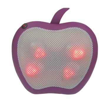 Soothing Apple Massager Heated Lumbar Cushion Massager