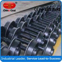 china charbon 500mm jauge minière voiture ensemble de roues