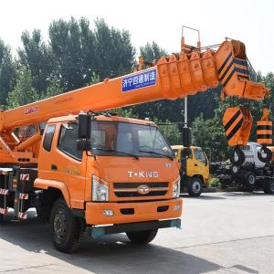 Hot Sale for for China Mobile Crane,Crawler Crane,Hydraulic Mobile Crane Supplier 12 Ton Telescopic Boom Tking Truck Crane supply to Antigua and Barbuda Suppliers