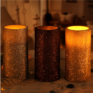 Various events decoration wax candles with LED