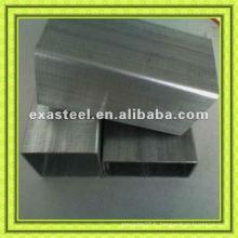 Profilés creux en acier galvanisé