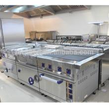 Équipement commercial de cuisine de restaurant d'hôtel de vente chaude de la série 900 / équipement de cuisine pour la bonne réputation