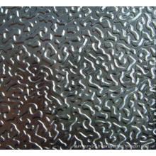 3105/3003 Rouleaux en aluminium / bobines en relief 0,2 mm pour la décoration