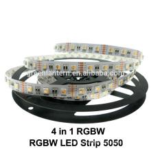 DC12V 5050 SMD RGBW led Luz de tira para interior utilizado