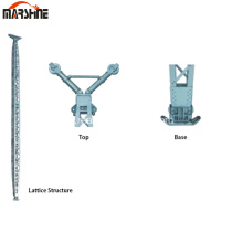 Alloy Inside suspension Lattice Structure Holding Pole