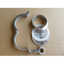 Accesorio sanitario Tri-Clamp de acero inoxidable
