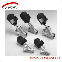 Wenzhou Supplier Pneumatic Threaded Angle Seat Valve