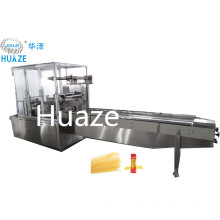Automatic pillow packing machine for spaghetti