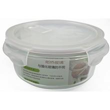 Resistente ao calor de vidro Pyrex Glass Storage Oven Container Set / Snapware