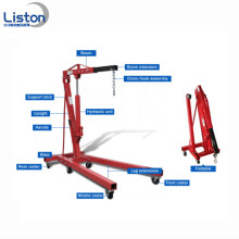 2 tan Hydraulic Folding Engine Shop Crane