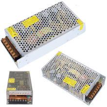 10W 20W 25W 50W 100W 200W 300W DC 5V-12V-24V Adaptador de fuente de alimentación del interruptor Adaptador para la luz de tira del LED con precio de fábrica