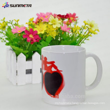 high quality Sublimation 11oz Make Hot Water Color Changing ceramic mug