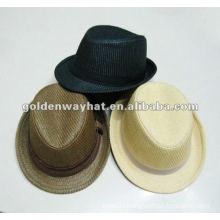 2014 Fashion Paper small fedora hats