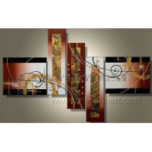 Handpainted Large Abstract Modern Group Painting (XD5-074)