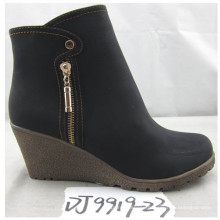Fashion Wedge Heel Shoe Ladies with Rubber Outsole (S 41-5)