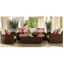 cheap wholesale outdoor furniture rattan sofa/ sofa design