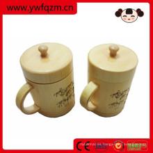 taza de la promoción de bambú de China que bebe