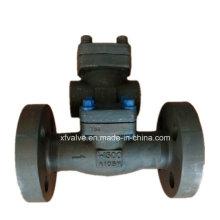 Válvula de retención de brida de acero forjado de alta resistencia 1500lb 2500lb A105