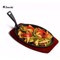 cast iron grill fry pan with removable handle