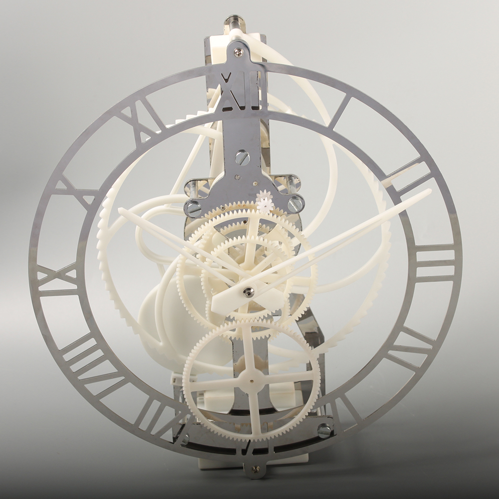 Plactic Hollow Gear Pendulum Clock