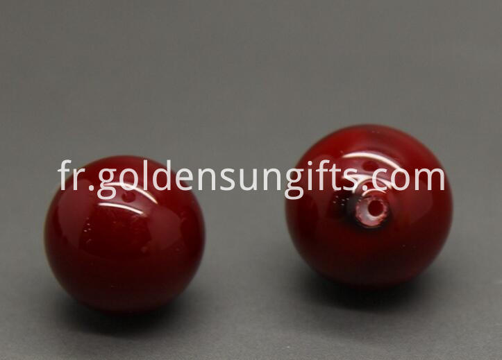 Red Shell Pearl Beads