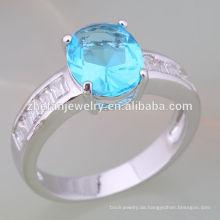 professionelle Fabrik Großhandel Modeschmuck Italien Ewigkeit Ring 14 Karat Gelbgold 925 Sterling Silber Ring Schmuck