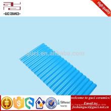 Toit en plastique d'isolation anti-corosion de haute résistance au lieu de bâtiment de l'industrie de tuile de toit de PVC