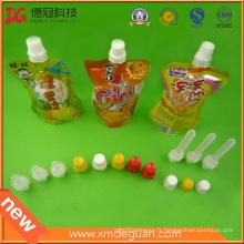 8.6mm Emballage Bec de vis en plastique PE avec capuchon