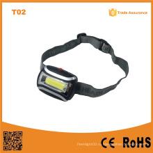T02 Лучшая фабричная дешевая перезаряжаемая фара COB High Power LED