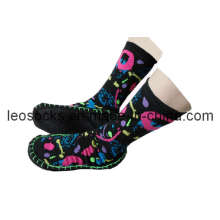 Wasserdichte Slipper Socken mit Gummisohle