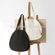 Fashion exquisite plain cotton messenger bag with high quality