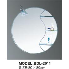 Espelho de vidro do banheiro da prata da espessura de 5mm (BDL-2011)