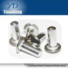 Alumínio sólido cabeça redonda rebites