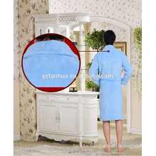 5 star hotel fleece bathrobe,hotel quality bathrobe