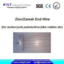 L'embrayage de vélo / moto / automobile câble la machine d'injection d'extrémité de zinc