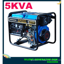 AC Single Phase 5kVA Open-Frame Key Start Diesel Generator