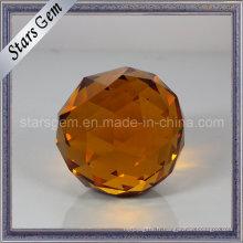 Boule ronde de couleur différente avec la boule de verre de décoration de point de Blass
