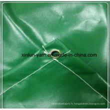 Tissu imperméable de toile pour la tente / couverture de camion / caisse / toile