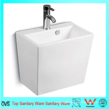 Rectangular Wall-Hung Half One-Piece Basin