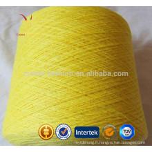 Cachemire fil à tricoter Super Chunky Mongolian à la main