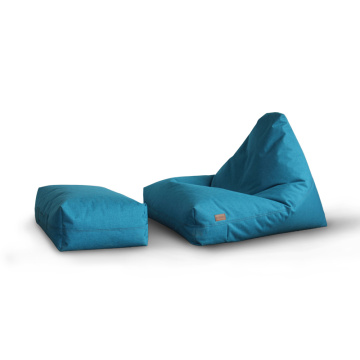 Bean bag sofa sets triangle waterproof bean bag