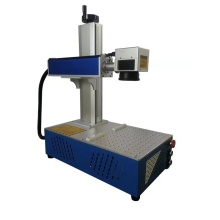 Máquina de marcado láser de fibra de metal de impresión de logotipo 30w
