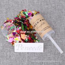 Beste Design Günstige Hochzeitsparty Konfetti Push Pop für Verkauf