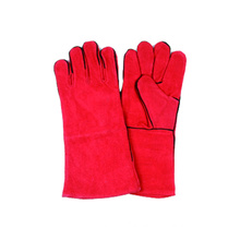 Cow Split Welding Glove, Work Leather Glove