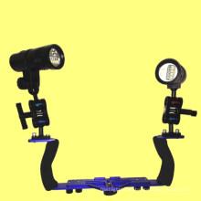 Accesorios para equipos de video subacuáticos U2 LED Gopro Diving Photo Light