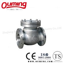 ANSI Válvula de Retenção Flangeada em Aço Inoxidável Padrão