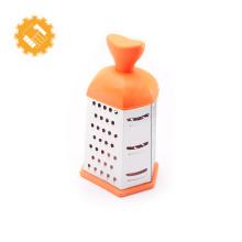 Rallador de alimentos de acero inoxidable de 6 lados con cuchilla afilada