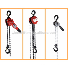 heavy duty vital manual power lifting block with g80 crane hooks