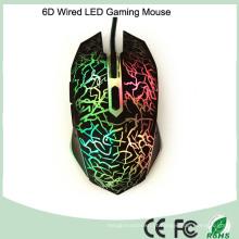 Acessórios de computador com alta velocidade com fio USB LED de mouse óptico (M-65-1)